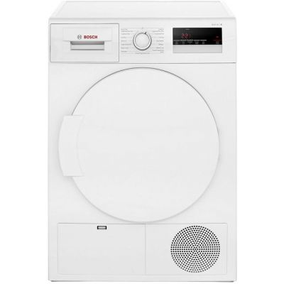 Bosch Serie 4 WTN83200GB 8Kg Condenser Tumble Dryer - White - B Rated Best Price, Cheapest Prices