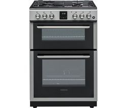 KENWOOD KDG606S19 60 cm Gas Cooker - Silver Best Price, Cheapest Prices