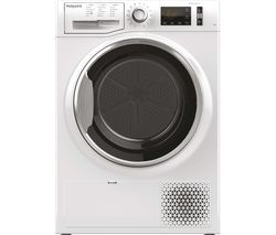 HOTPOINT Active Care NT M11 92XB UK 9 kg Heat Pump Tumble Dryer - White Best Price, Cheapest Prices