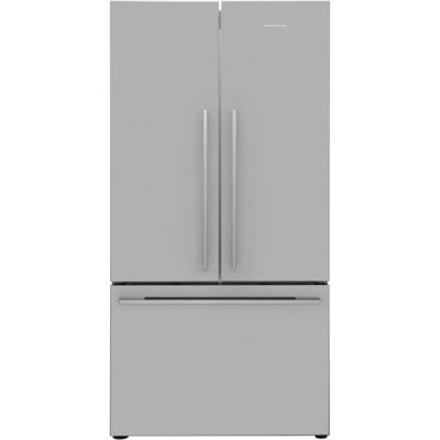 Fisher & Paykel Designer ActiveSmart RF610ADX4 American Fridge Freezer - Stainless Steel - A+ Rated Best Price, Cheapest Prices
