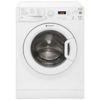 Hotpoint Extra WMXTF842P 8Kg Washing Machine with 1400 rpm - White - A++ Rated Best Price, Cheapest Prices
