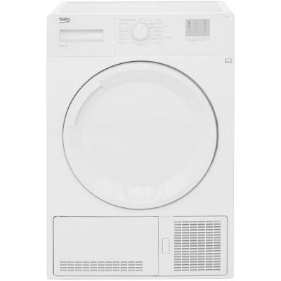 Beko DTGC7000W 7Kg Condenser Tumble Dryer - White - B Rated Best Price, Cheapest Prices
