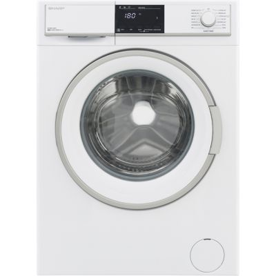 Sharp ES-HFB9143W3-EN 9Kg Washing Machine with 1400 rpm - White - A+++ Rated Best Price, Cheapest Prices