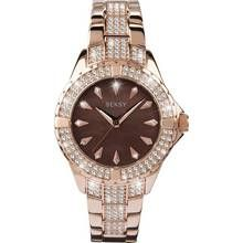 Seksy Intense Ladies' Stone Set Rose Gold Plated Watch Best Price, Cheapest Prices