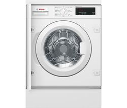 BOSCH Serie 6 WIW28300GB Integrated 8 kg 1400 Spin Washing Machine Best Price, Cheapest Prices