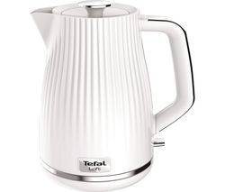 TEFAL Loft KO250140 Rapid Boil Traditional Kettle - Pure White Best Price, Cheapest Prices