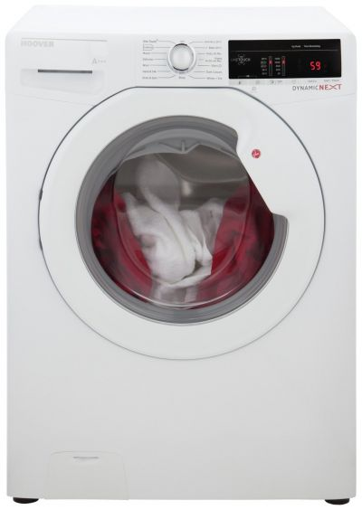 Hoover DLOA4103 10KG 1400 Spin Washing Machine - White Best Price, Cheapest Prices