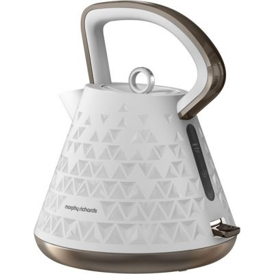 Morphy Richards Prism 108102 Kettle - White Best Price, Cheapest Prices