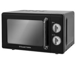 RUSSELL HOBBS RHRETMM705B Solo Microwave - Black Best Price, Cheapest Prices