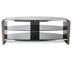 ALPHASON Francium 1100 TV Stand - Walnut Best Price, Cheapest Prices