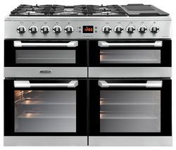 LEISURE Cuisinemaster CS100F520X Dual Fuel Range Cooker - Stainless Steel Best Price, Cheapest Prices