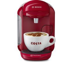 TASSIMO by Bosch Vivy2 Coffee Machine - Pink Best Price, Cheapest Prices