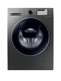 Samsung WW70K5413UX/EU 7kg Load, 1400 SpinAddWash™ Washing Machine with Ecobubble™ Technology and 5-Year Samsung Parts & Labour Warranty - Graphite Best Price, Cheapest Prices