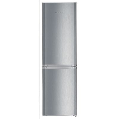 Liebherr CUel3331 60/40 Frost Free Fridge Freezer - Stainless Steel Effect - A++ Rated Best Price, Cheapest Prices