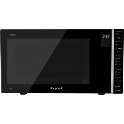 Hotpoint COOK 30 MWH301B 30 Litre Microwave - Black Best Price, Cheapest Prices