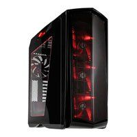 SilverStone PM01BR Mid Tower Chassis with Window, ATX/MicroATX, 3x 140mm RGB Fans, 140mm Rear Fan, 2x USB3.0, 2x USB2.0 Best Price, Cheapest Prices