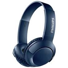 Philips SHB3075 Wireless On-Ear Headphones - Blue Best Price, Cheapest Prices