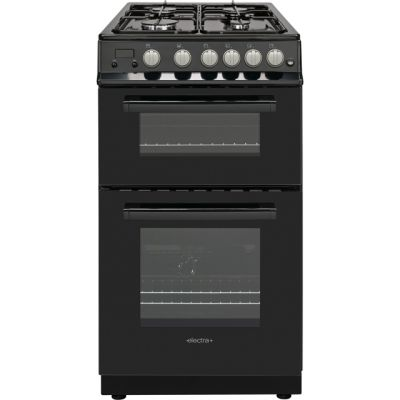 Electra PFSDOG5B 50cm Gas Cooker with Gas Grill - Black - A+ Rated Best Price, Cheapest Prices