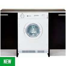 White Knight C4317 7KG Integrated Vented Tumble Dryer White Best Price, Cheapest Prices