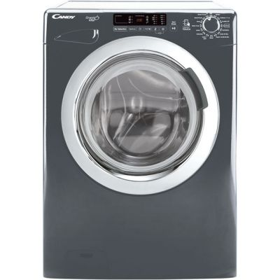 Candy Grand'O Vita GVS1410DC3R 10Kg Washing Machine with 1400 rpm - Graphite - A+++ Rated Best Price, Cheapest Prices