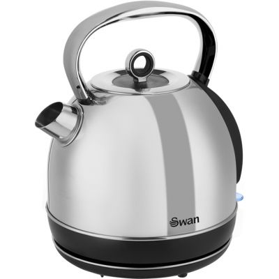 Swan Classic SK14070N Kettle - Polished Stainless Steel Best Price, Cheapest Prices