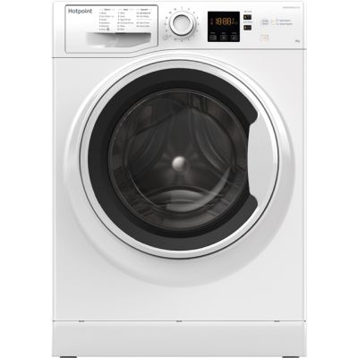 Hotpoint NSWA843CWWUK 8Kg Washing Machine with 1400 rpm - White - A+++ Rated Best Price, Cheapest Prices