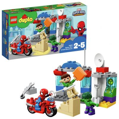 LEGO DUPLO Sipder-Man and Hulk Adventures - 10876 Best Price, Cheapest Prices