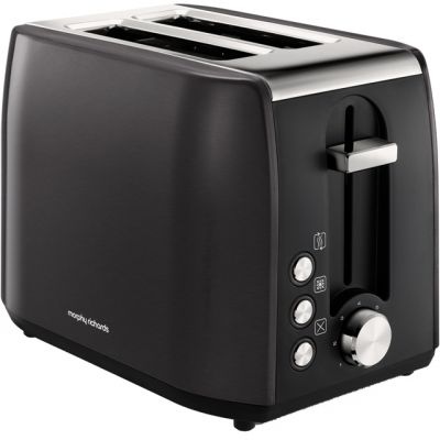 Morphy Richards Equip 222058 2 Slice Toaster - Black Best Price, Cheapest Prices
