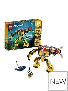 LEGO Creator 31090 Underwater Robot Best Price, Cheapest Prices