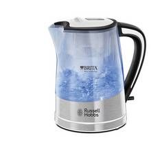 Russell Hobbs 22851 Purity Brita Filter Clear Plastic Kettle Best Price, Cheapest Prices