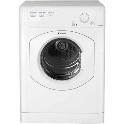 Hotpoint TVHM80CP 8Kg Vented Tumble Dryer - White - C Rated Best Price, Cheapest Prices