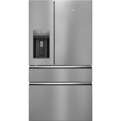 AEG RMB96719CX American Fridge Freezer - Stainless Steel - A+ Rated Best Price, Cheapest Prices
