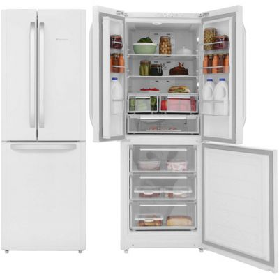 Hotpoint Day 1 FFU3D.1W 60/40 Frost Free Fridge Freezer - White - A+ Rated Best Price, Cheapest Prices