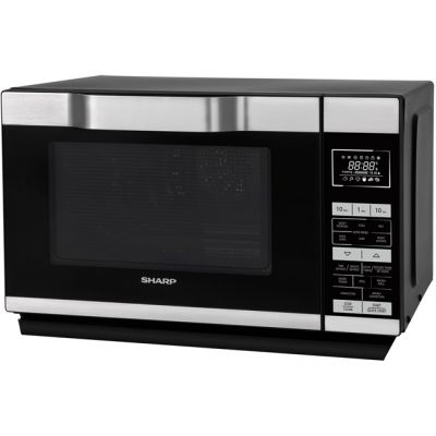Sharp I series R861KM 25 Litre Combination Microwave Oven - Silver / Black Best Price, Cheapest Prices