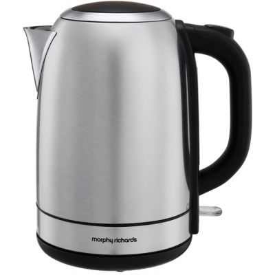 Morphy Richards Equip 102779 Kettle - Brushed Stainless Steel Best Price, Cheapest Prices