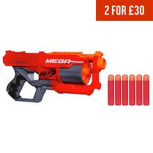 Nerf N-Strike Elite Mega CycloneShock Blaster Best Price, Cheapest Prices