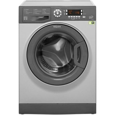 Hotpoint CarePlus WMAOD743G 7Kg Washing Machine with 1400 rpm - Graphite - A+++ Rated Best Price, Cheapest Prices