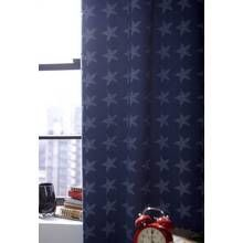 Catherine Lansfield Curtains - 168x183cm - Stars and Stripe