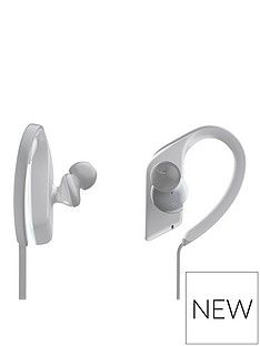 Panasonic RP-BTS55 Wireless Bluetooth IPX5 Water Resistant Headphones - White Best Price, Cheapest Prices