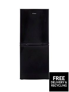 Candy CSC1365BE 54cm Fridge Freezer - Black Best Price, Cheapest Prices