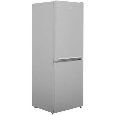 Beko CFG1552S 50/50 Frost Free Fridge Freezer - Silver - A+ Rated Best Price, Cheapest Prices