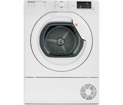 HOOVER Link HL C8DCG NFC 8 kg Condenser Tumble Dryer - White Best Price, Cheapest Prices