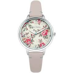 Cath Kidston Ladies Pink Leather Strap Watch Best Price, Cheapest Prices