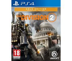 PS4 Tom Clancy's The Division 2 - Gold Edition Best Price, Cheapest Prices