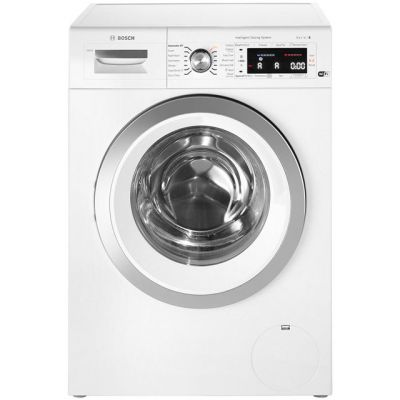 Bosch Serie 8 i-Dos™ WAWH8660GB Wifi Connected 9Kg Washing Machine with 1400 rpm - White - A+++ Rated Best Price, Cheapest Prices