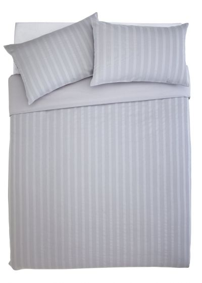 Sainsbury's Home 300TC Grey Waffle Bedding Set - Superking Best Price, Cheapest Prices