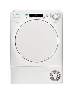 Candy Csc9Df 9Kg Load Condenser Sensor Tumble Dryer With Smart Touch - White Best Price, Cheapest Prices
