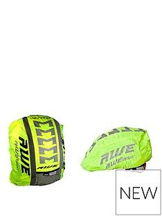 Awe AWE High Visibillity 3M Scotchlite Reflective Helmet & Rucksack Cover Set Best Price, Cheapest Prices