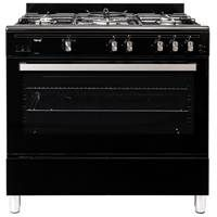 Teknix TKGF90BL 90cm Gas Range Cooker in Black with 2 Year Warranty