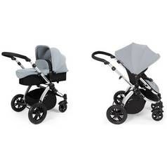 Ickle bubba Stomp V2 2-in-1 Pushchair - Silver